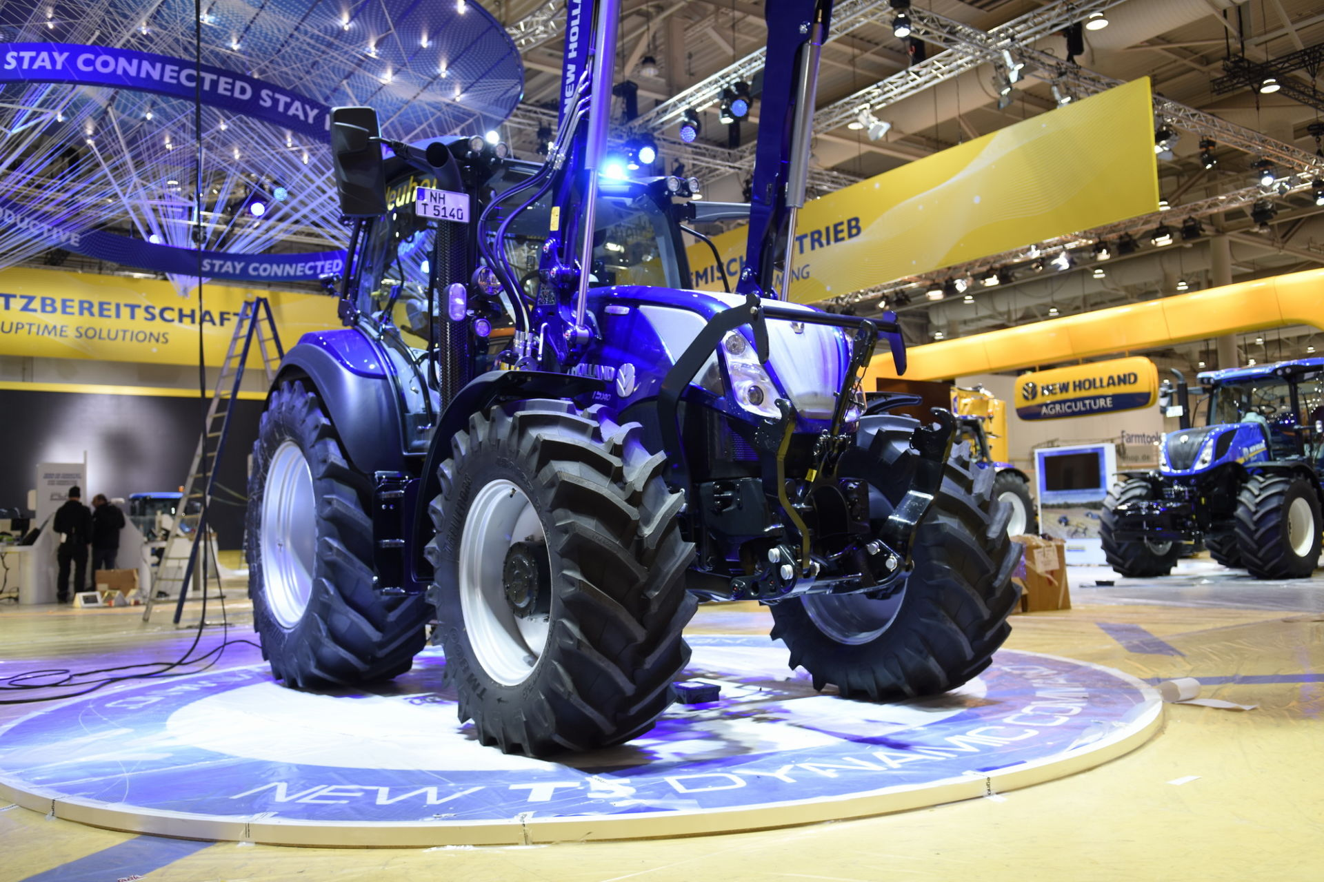 Agritechnica 2019: New Holland T5 Dynamic Command