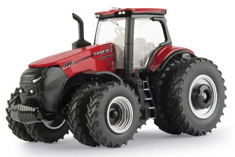 Case IH Magnum is er al, in't klein