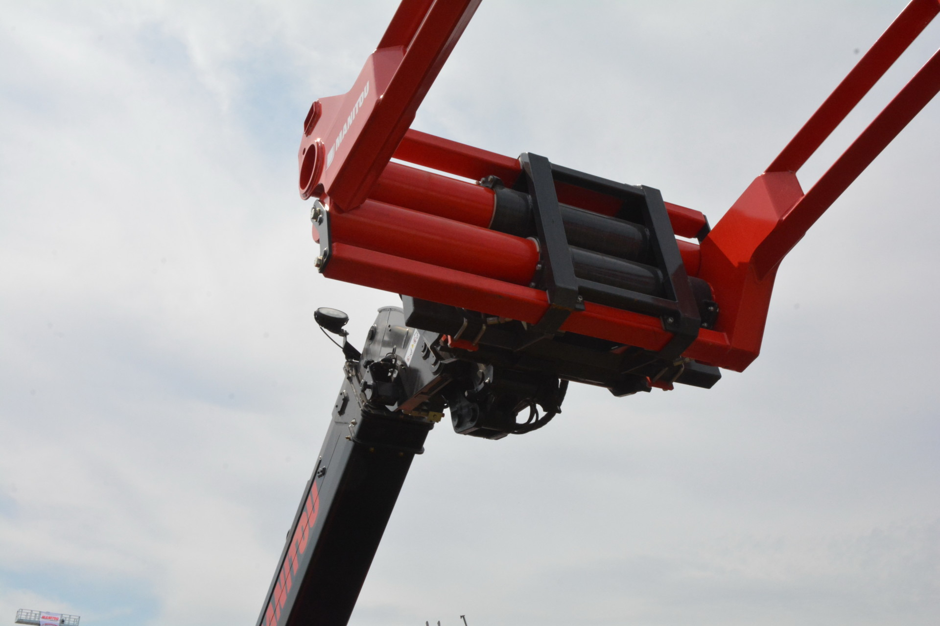 Libramont 2019: Camera op Manitou-arm