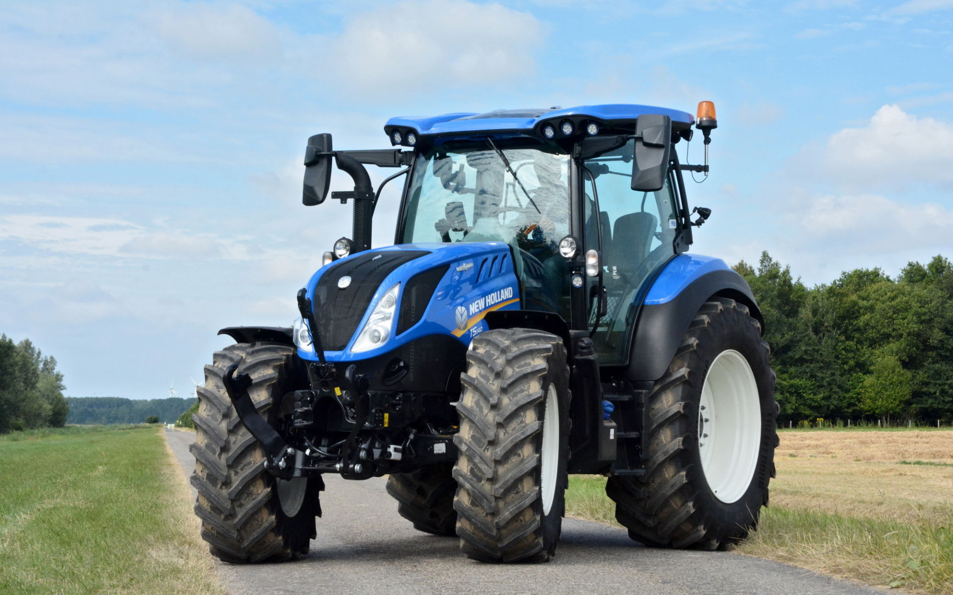 New Holland T5 Autocommand: lang verwacht...