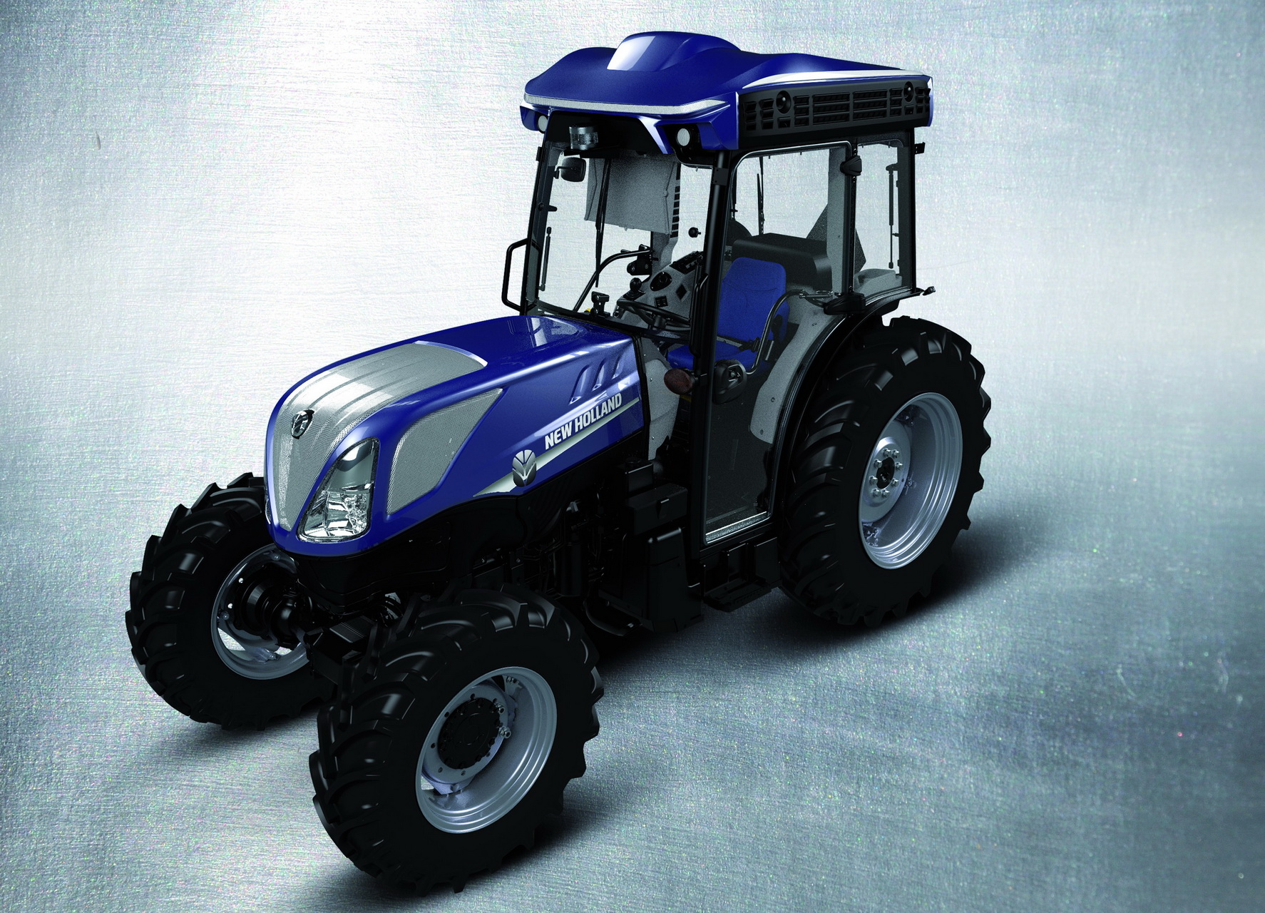 New Holland test autonome T4.110F trekkers