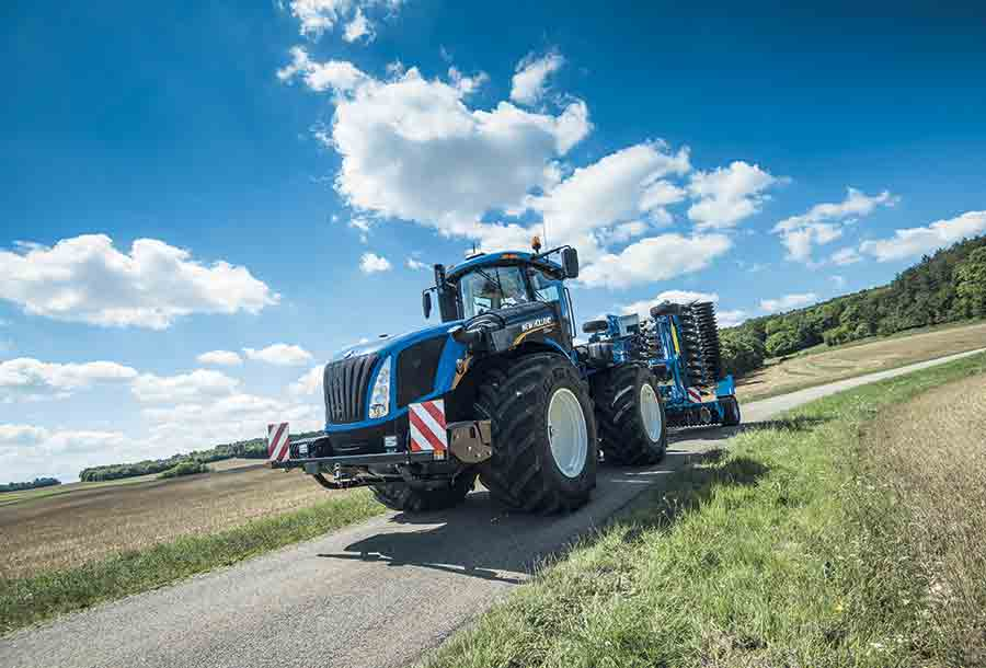 Zomertour 2018: New Holland T9.565