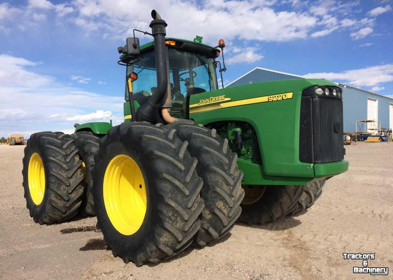 John Deere 9220 4wd Pto 3pnt Hitch Tractor Co Us Gebruikte