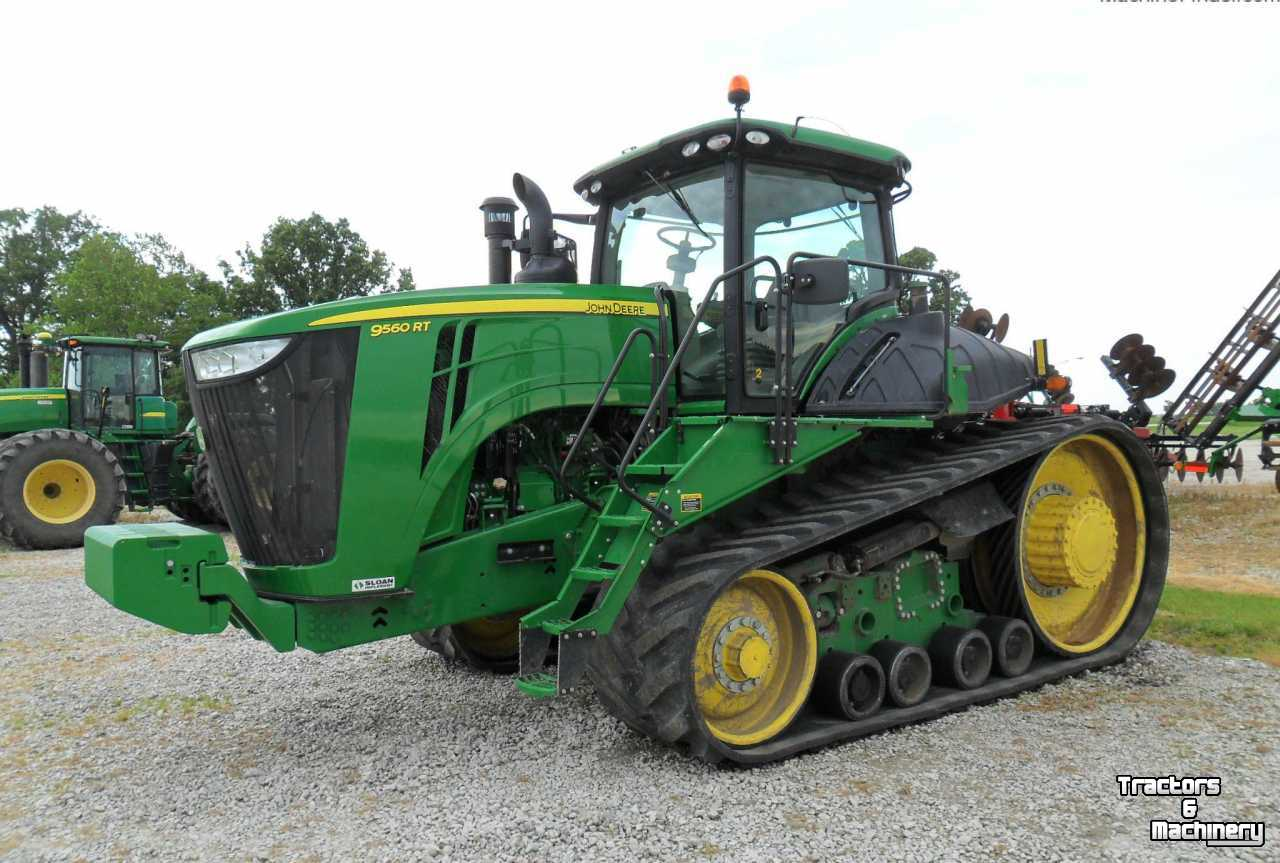 John Deere 9560rt Pst Tracked Track Tractor Il Usa