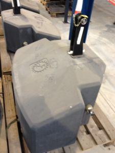 zuidberg 800 kg beton gewicht gebruikte frontgewichten. Black Bedroom Furniture Sets. Home Design Ideas