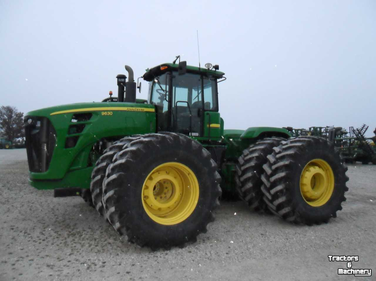 John Deere 9630 Articulated 4wd Ps Tractor Il Usa Gebruikte