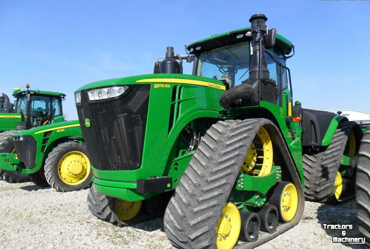 John Deere 9570rx Articulated Track Tractor Il Usa Gebruikte