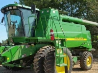 Maaidorser John Deere 9650W 2WD LEVEL LAND COMBINE IL USA
